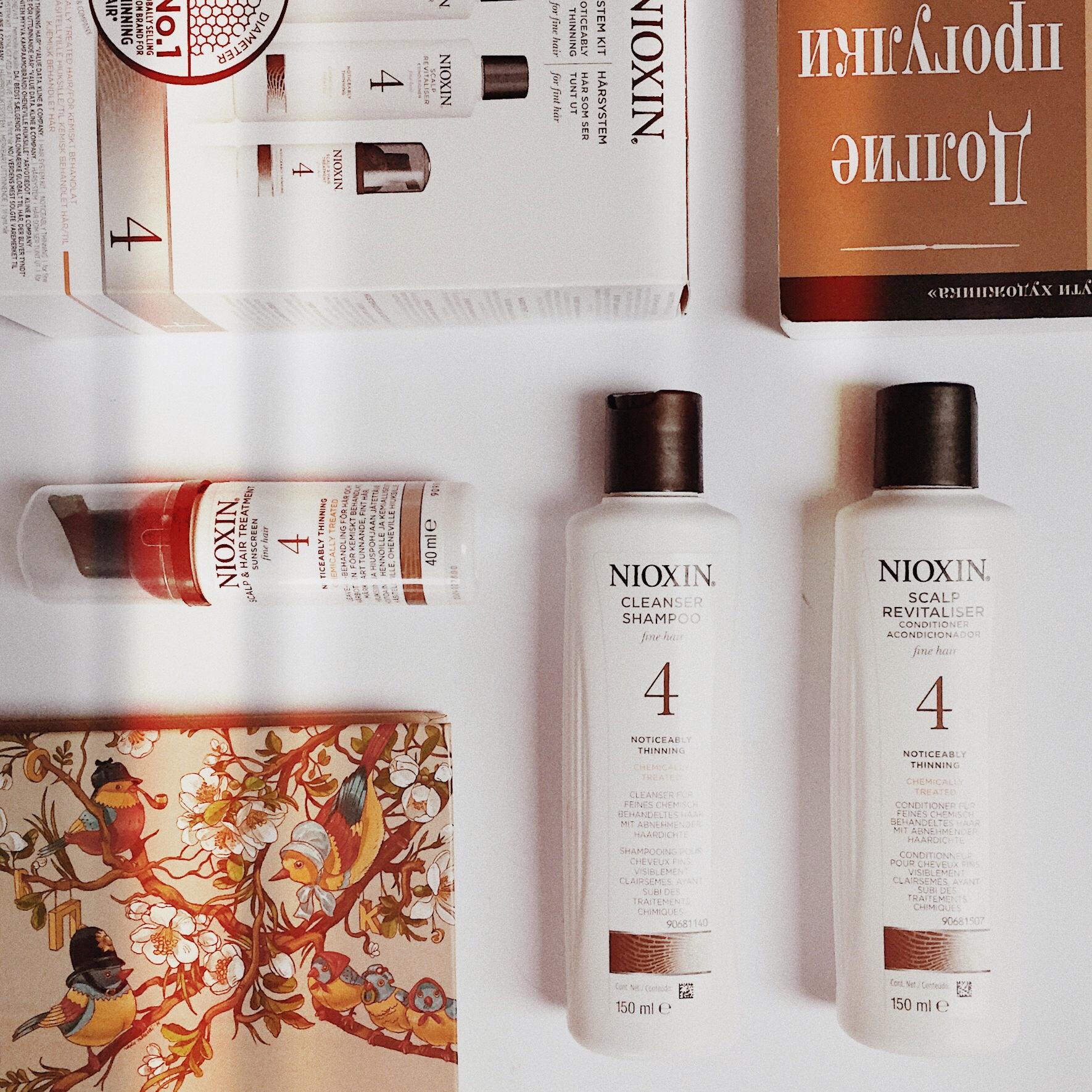 nioxin hair system kit 4 выпадение волос уход за волосами как отрастить волосы в домашних условиях