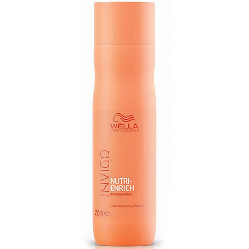 Wella Professionals Invigo Nutri-Enrich шампунь для натуаральных волос как ухаживать за волосами