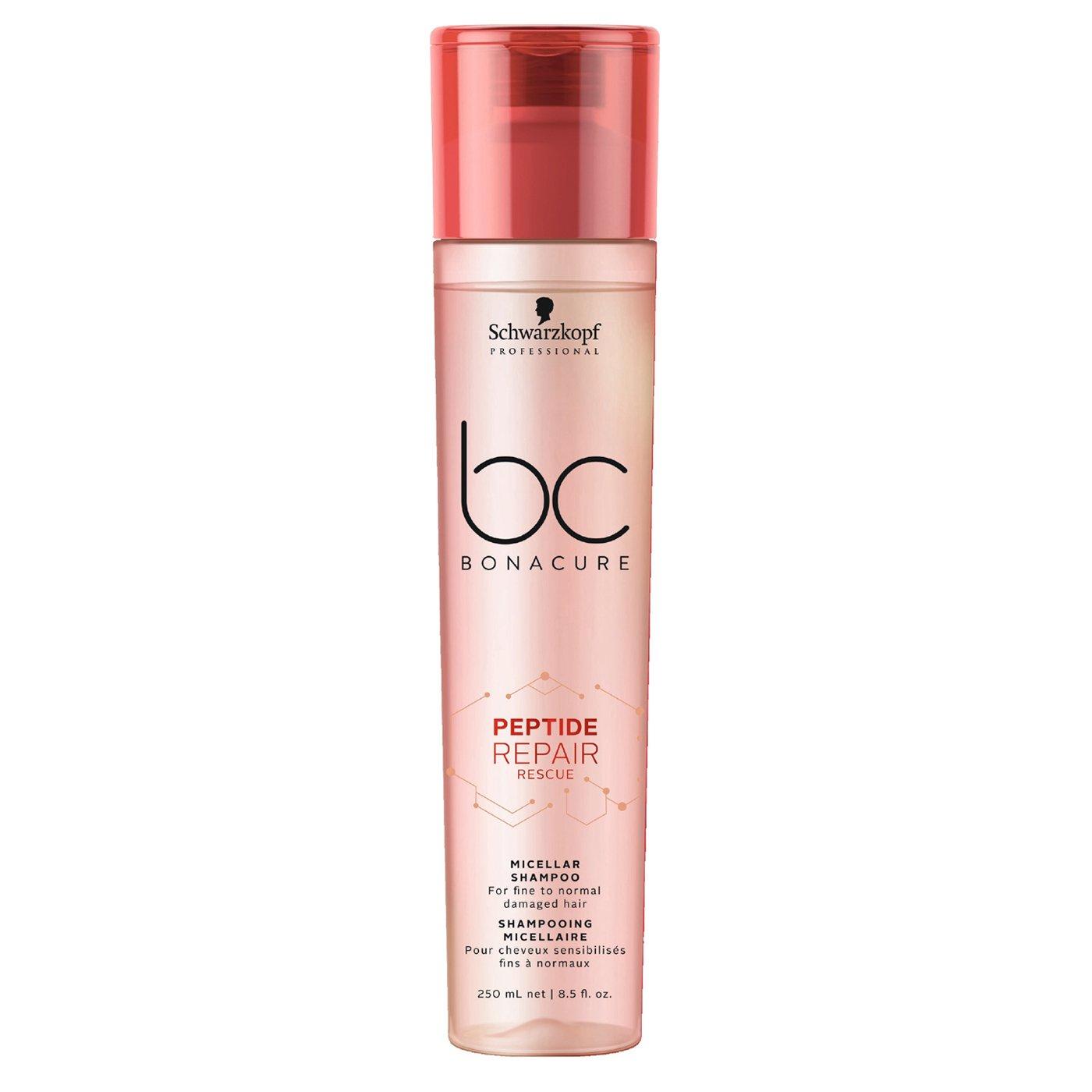 Schwarzkopf Bonaсure Peptide Repair shampoo review питающий восстанавливающий шампунь для натуаральных волос как ухаживать за волосами