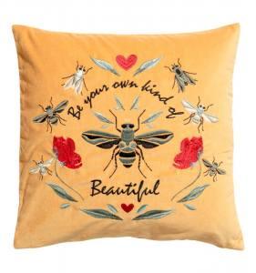 Embroidered cushion cover что купить на скидках hm home