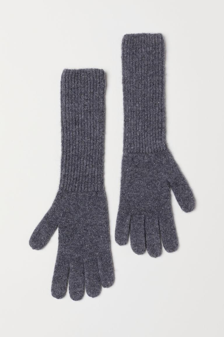 что надеть в H&M Cashmere-blend gloves H&M