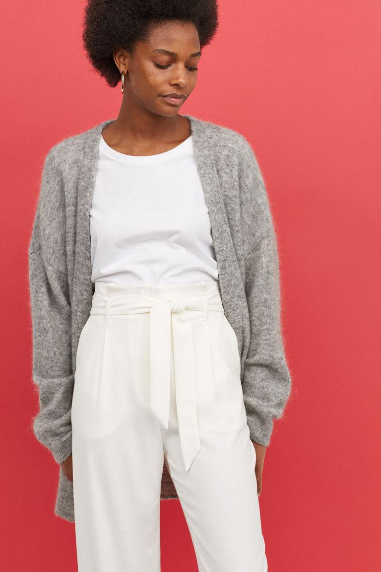 что надеть в H&M Mohair-blend cardigan H&M