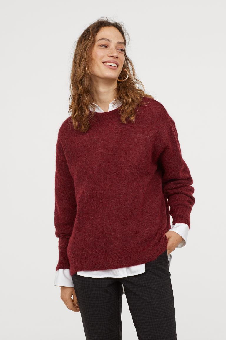 что надеть в H&M Mohair-blend jumper H&M