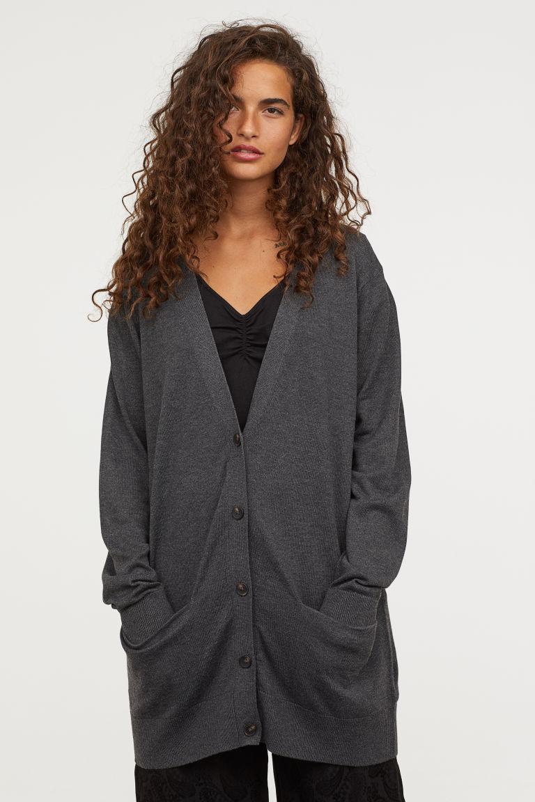 что надеть в H&M Wool-blend cardigan 29,99 €