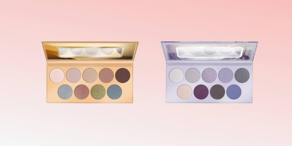 топ 6 продуктов за март красота макияж косметика daryazu pink background essence eye shadow pallette new york sydney daryazu-min